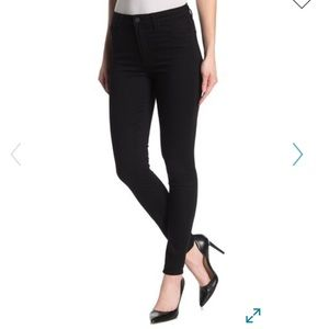 Articles of Society Mid Rise Black Skinny Jeans